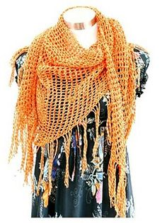 Sweet November shawl - free on Ravelry