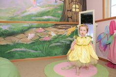 Fairy Garden Make a Wish Room Design, Playroom with Garden Mural, Tree. Luxurious baby nurseries and children's rooms designed by celebrity nursery designer, Sherri Blum, CID.
