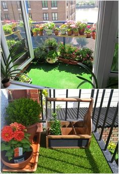 1000 images about balcony verandah on pinterest - Decoration balcon terrasse appartement ...