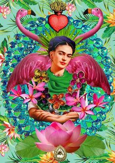 Diego Rivera Art, Frida Art, Mexican Artists, Canvas Paper, People Art, Fractal Art, Betty Boop, Home Art, Fantasy Art