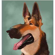 #TBT to that time when I did a German Shepherd caricature for someone living in Germany  A little on the nose eh? You can get your pet's pic on my website at CharReed.com! . . . . . #animals #animal #pet #dog #cat #dogs #cats #photooftheday #cute #pets #instagood #animales #cute #love #nature #animallovers #pets_of_instagram #petstagram #petsagram #sketch #drawing #art #artstagram #commission #arts_secret #arrtshares #love_arts_help #snapwidget #throwbackthursday