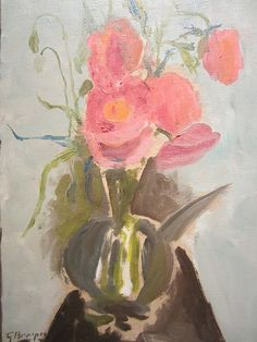 Georges Braque 'The Corn-poppies'