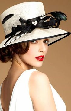 Kentucky derby women's hats and fashion outfit ideas 64