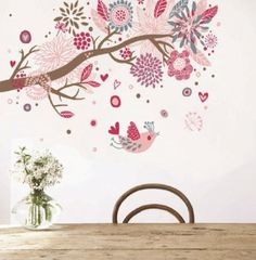 Simple Butterflies Dandelion Wall Decal Butterfly Custom Baby Nursery Children us Rooms Living Space Interior Designs Easy Application