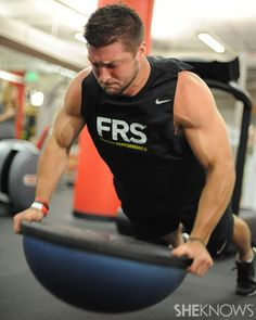 Can you handle Tim #Tebow's #diet and training regimen? via @SheKnows