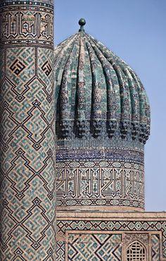 (via High Art II, a photo from Samarkand, East | TrekEarth)    Samarkand, Uzbekistan