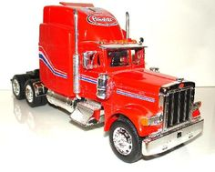 Drive a tractor trailer coast to coast Collectible Cars, Jada Toys, Peterbilt 379, Model Kits, Diecast, Tractors, Aviation, Automobile, Coast