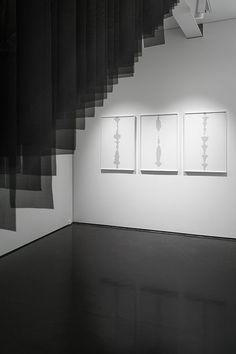 Katarzyna Mirczak's Abysses exhibition view at the Kasia Michalski Gallery, 2015