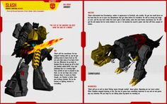 DINOBOT SLASH by F-for-feasant-design.deviantart.com on @deviantART