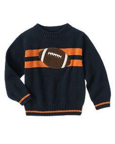 Auburn Football sweater - Football Stripe Sweater from Gymboree