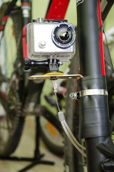 Bike Mount - sugru helps you achieve vibration free footage with your GoPro camera in all environments, from ski slopes to the sky, mountain bike tracks and even underwater