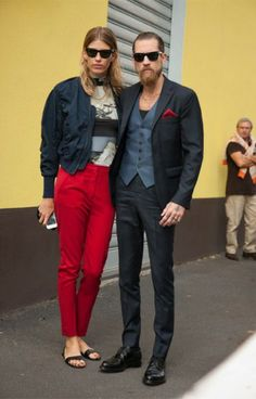 Justin-OShea with Veronika Heilbrunner