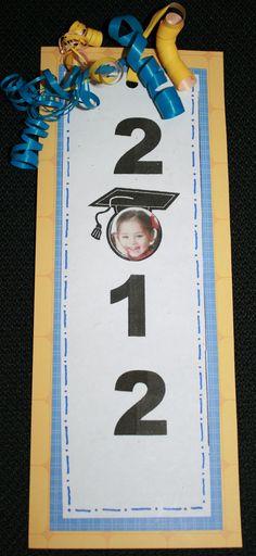 Graduation Bookmark