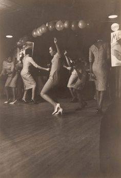 Dance Party, 1960, Chicago. Lee Balterman