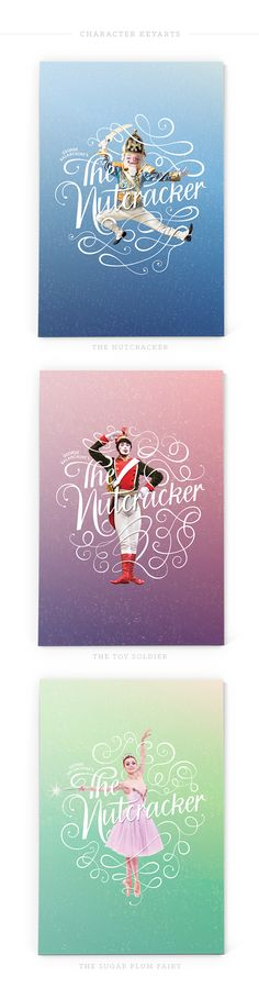 The Nutcracker by Nativo Creative, via Behance