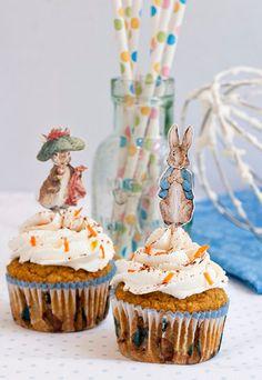 Birthday Cake Alternative:  Gluten Free Carrot Cupcakes
