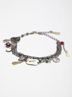 Free People Engraved Disc Layered Bracelet, C$0.00 - So gorgeous, so gone - Sob -