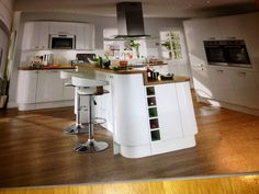 White gloss howdens Kitchen, Table, House, Furniture, Ideas, Home Decor, Cooking, Decoration Home, Room Decor