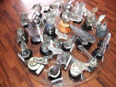 LALIQUE FRENCH GLASS CAR MASCOTS-HOOD ORNAMENTS COLLECTION AS LOT OR WILL SPLIT
