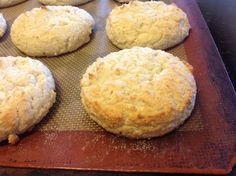 Grain free, gluten free biscuits.  Great to pair with breakfast, lunch, or dinner!  Just like momma used to make!  YUM!