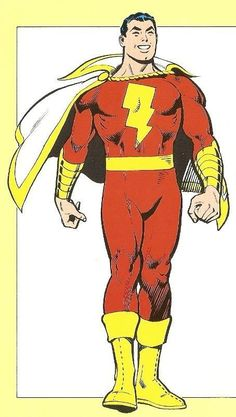 Is Captain Marvel. Captain Marvel Shazam, Mary Marvel, Original Captain Marvel, Marvel Dc Comics, Dc Comics Superheroes, Dc Comics Characters, Dc Comics Art, The Lone Ranger, Dc Heroes