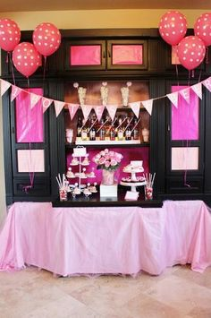 Hostess with the Mostess® - 21 Bottles of {Pink} Beer on the Wall
