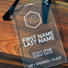 Conference, Expo and Event Badges Archives - Laser Cutting Lab ...
