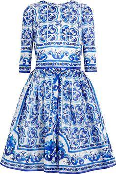 Blue Silk Dress, Silk Mini Dress, Blue Dresses, Fitted Dresses, White Dress, Mini Dresses, Mode Baroque, Short Summer Dresses, Dress Summer