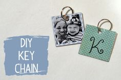 DIY Key Chain - The Paper Vine