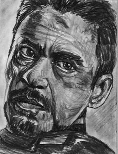 ACEO IRON MAN ROBERT DOWNEY JR. Original Sketch Card by MIRACLE  #Miniature