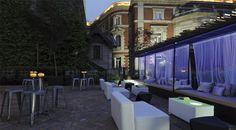 Un jardín único en el centro de Madrid