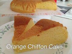 My Mind Patch: Rice Cooker Orange Chiffon Cake
