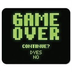 Mousepad Game Over ou tapete Ps Wallpaper, Retro Arcade Games, Overeating Disorder, Retro Videos, Retro Video Games, Game Themes, Gaming Wallpapers, Video Game Art, Pixel Art