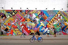 Revok and Pose Mural at Bowery and Houston Graffiti Wall | by NYC♥NYC