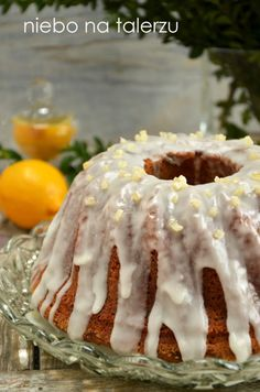 babka marchewkowa Easter In Poland, Polish Recipes, No Bake Cake, Tea Time, Cake Recipes, Cheesecake, Food And Drink, Cooking Recipes, Pudding