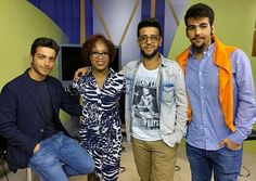 "@ilvolomusic By Cecelia Sharpe It was such an honor to interview this dynamic trio once again. They are so incredibly talented yet mature and humble. Please watch Il Volo, tonight at 9:30 p.m. on DPTV, channel 56, for the premiere of their special ""Una Notte Magica"" with special guest and legend Placido Domingo. You are in for a treat! 🎶💗🎶 #thankyouforsharing #Facebook #ilvolo #ilvoloversdelmundo #ilvolomundialoficial"