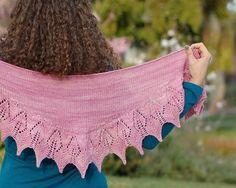 Holbrook Lace Shawl Knitting Pattern