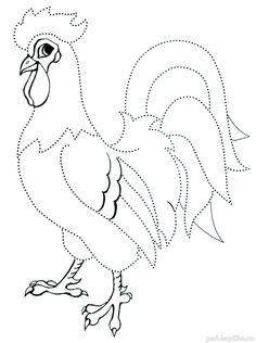 рисование домашних птиц для детей - Поиск в Google