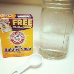 How to clean your hair with baking soda.