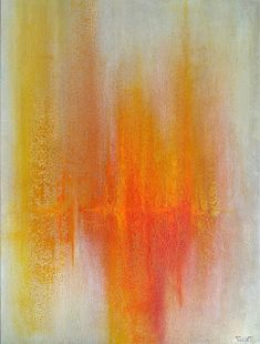 Harmonisk glød 80x60 cm. Akryl på lerret m/ strukturer (mixed media).      Bildet er i fargene: Krem, kitt, beige, sitrongul, gul, okergul, orange, rødorange, rød, vinrød, skygrå, mokka.      For å se detaljer eller strukturer osv. i maleriet, kan du klikke opp bildet eller bevege musepekeren over bildet.