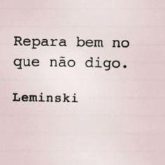 #Leminski