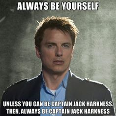 Jack Harkness!<<<<< did you mean Captain Jack Harkness           ^^^^^
