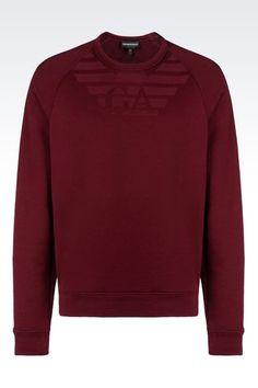 Burgundy Emporio Armani Sweatshirt