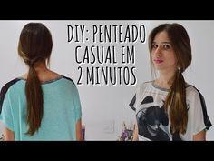 DIY: Penteado casual em 2 minutos - YouTube
