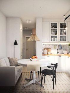 Kitchen small flat