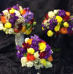 Purple Wedding Bouquets, Wedding Flowers, Table Decorations, Home Decor, Decoration Home, Room Decor, Home Interior Design, Dinner Table Decorations, Home Decoration
