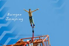 Jump and Swing away to glory land – Rishikesh's Bungee Jumping >>  Rishikesh offers three kinds of jumping, Jump, Fox and Swing. And price varies for each. It actually is super fun, falling free 100s of feet below, and the sudden jerk of the elastic or the adrenalin rush excitement when you are being pulled by a catapult and thrown quite far. #365hops, #bungeejumpinginindia