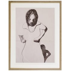 Drawing on Paper by P.ACKERMANN, circa 1975 Beautiful Drawings, Modern Art, Paper, Artwork, Work Of Art, Auguste Rodin Artwork, Contemporary Art