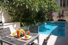 aménagement de petit jardin avec mini piscine design
