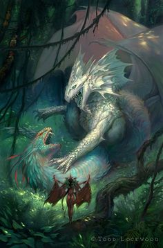 Forest King by Todd Lockwood